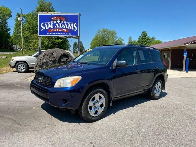 2007 Toyota RAV4 for sale at Sam Adams Motors in Cedar Springs MI