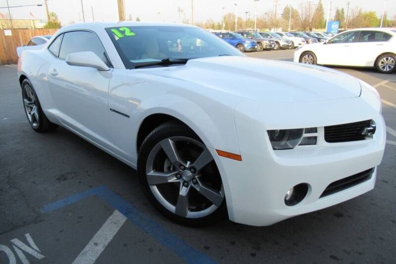 2012 Chevrolet Camaro for sale at Choice Auto & Truck in Sacramento CA