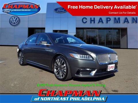 2018 Lincoln Continental for sale at CHAPMAN FORD NORTHEAST PHILADELPHIA in Philadelphia PA