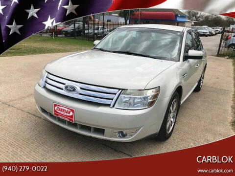 2008 Ford Taurus for sale at CARBLOK in Lewisville TX