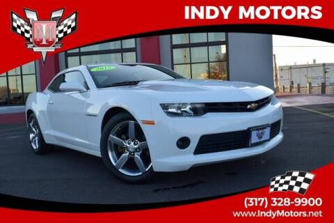 2015 Chevrolet Camaro for sale at Indy Motors Inc in Indianapolis IN