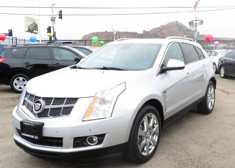 2012 Cadillac SRX for sale at Luxor Motors Inc in Pacoima CA
