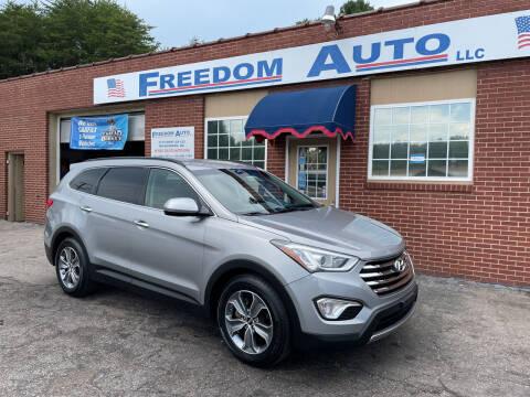 2016 Hyundai Santa Fe for sale at FREEDOM AUTO LLC in Wilkesboro NC