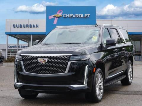 2021 Cadillac Escalade ESV for sale at Suburban Chevrolet of Ann Arbor in Ann Arbor MI