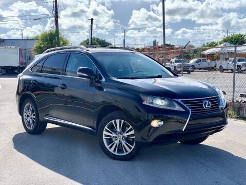 2013 Lexus RX 350 for sale at Citywide Auto Group LLC in Pompano Beach FL
