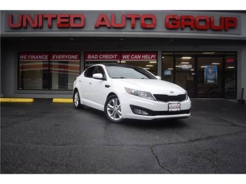 2013 Kia Optima for sale at United Auto Group in Putnam CT