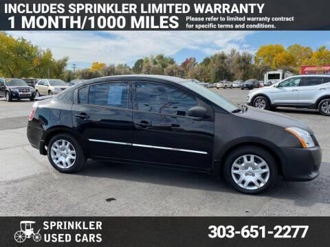 2012 Nissan Sentra for sale at Sprinkler Used Cars in Longmont CO