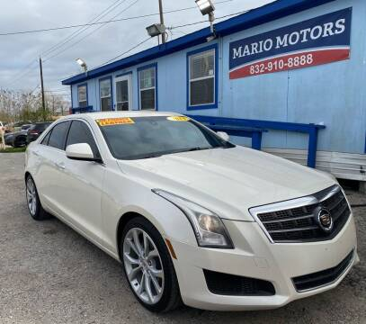 2013 Cadillac ATS for sale at Mario Motors in South Houston TX