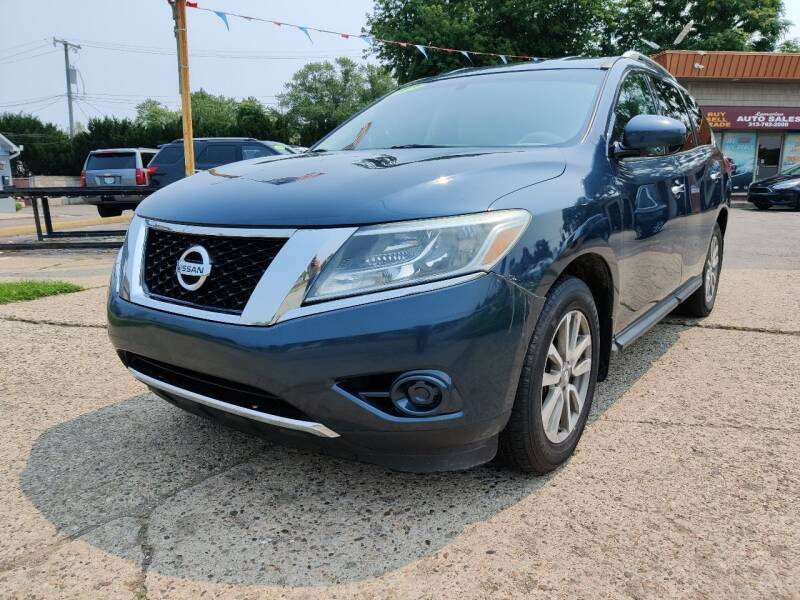 2013 Nissan Pathfinder for sale at Lamarina Auto Sales in Dearborn Heights MI