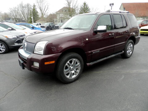 2008 Mercury Mountaineer for sale at Moser Motors Of Portland in Portland IN
