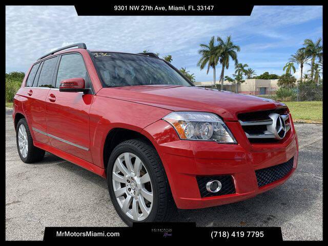 2012 Mercedes-Benz GLK for sale in Miami, FL