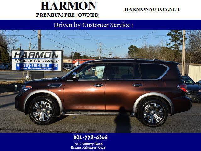 2019 Nissan Armada for sale at Harmon Premium Pre-Owned in Benton AR