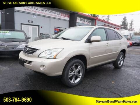 2006 Lexus RX 400h for sale at Steve & Sons Auto Sales in Happy Valley OR