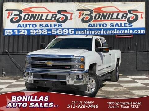 2015 Chevrolet Silverado 2500HD for sale at Bonillas Auto Sales in Austin TX
