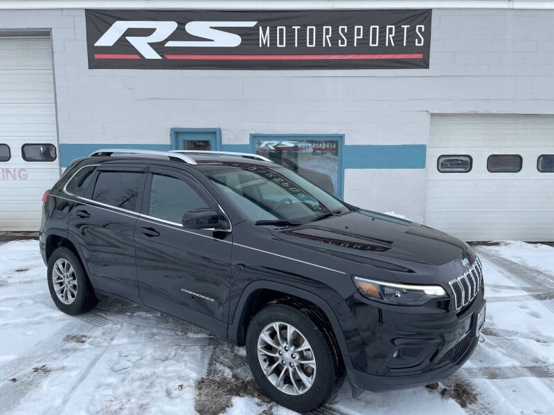 2019 Jeep Cherokee for sale at RS Motorsports, Inc. in Canandaigua NY
