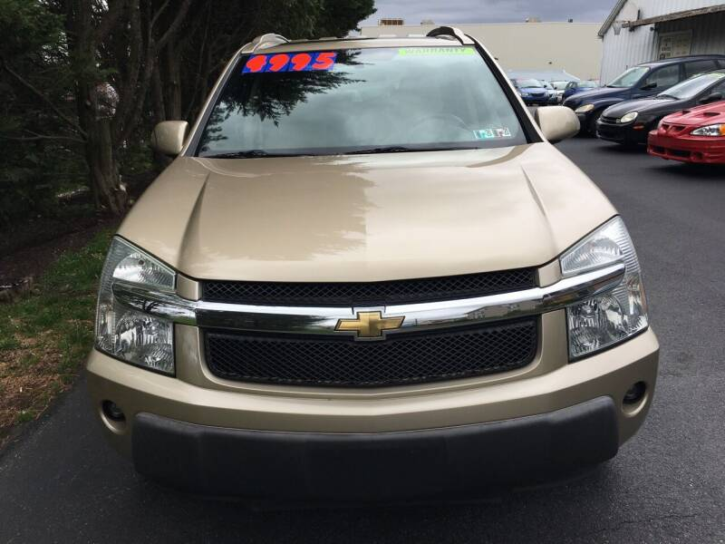 2006 Chevrolet Equinox for sale at BIRD'S AUTOMOTIVE & CUSTOMS in Ephrata PA