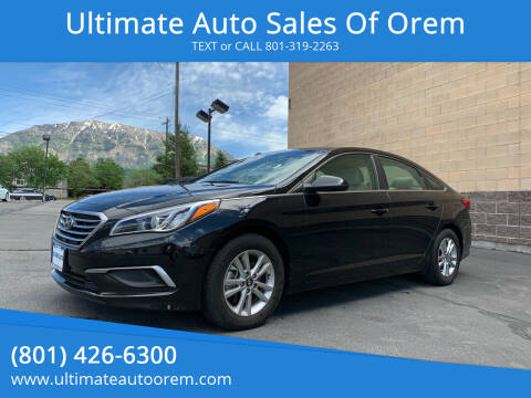 2016 Hyundai Sonata for sale at Ultimate Auto Sales Of Orem in Orem UT