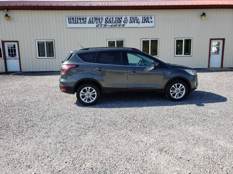 2017 Ford Escape for sale at White Auto Sales Inc in Summersville WV