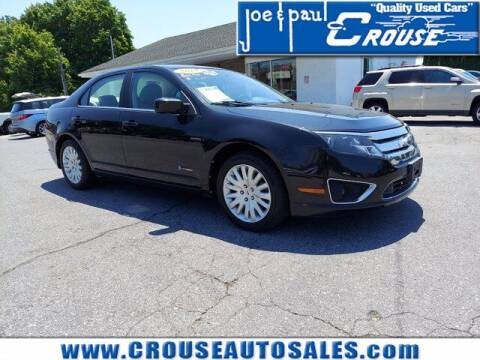 2010 Ford Fusion Hybrid for sale at Joe and Paul Crouse Inc. in Columbia PA
