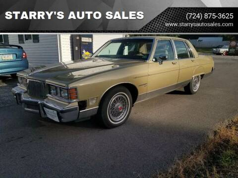 1981 Pontiac Bonneville for sale at STARRY'S AUTO SALES in New Alexandria PA