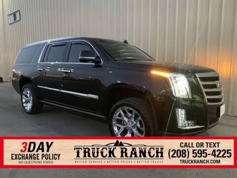 2016 Cadillac Escalade ESV for sale at Truck Ranch in Twin Falls ID