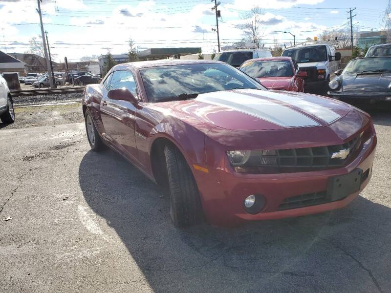 2010 Chevrolet Camaro for sale at Mass Auto Exchange in Framingham MA