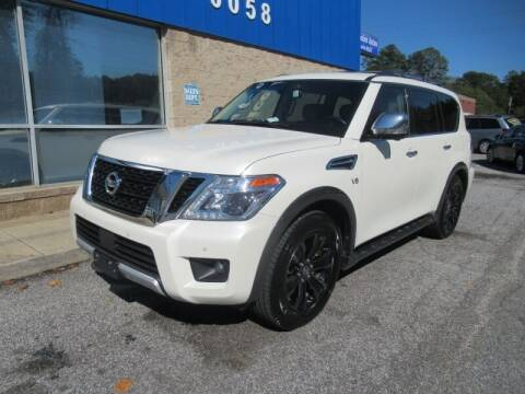 2017 Nissan Armada for sale at 1st Choice Autos in Smyrna GA