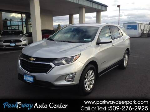 2018 Chevrolet Equinox for sale at PARKWAY AUTO CENTER AND RV in Deer Park WA