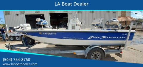 2002 Bay Stealth 1880 for sale at LA Boat Dealer - Bass Boats in Metairie LA