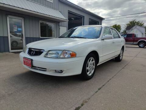 2002 Mazda 626 for sale at Habhab's Auto Sports & Imports in Cedar Rapids IA