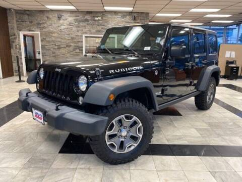 2017 Jeep Wrangler Unlimited for sale at Sonias Auto Sales in Worcester MA