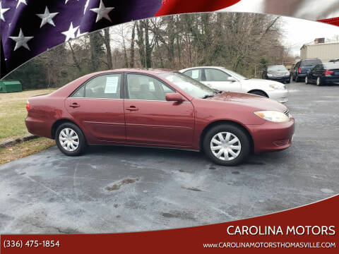 2006 Toyota Camry for sale at CAROLINA MOTORS - Carolina Classics & More-Thomasville in Thomasville NC