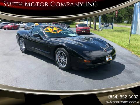 2004 Chevrolet Corvette for sale at Smith Motor Company INC in Mc Cormick SC