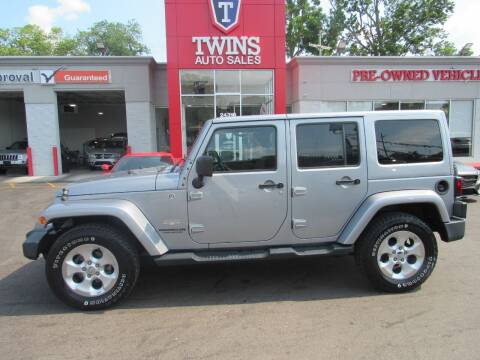 2015 Jeep Wrangler Unlimited for sale at Twins Auto Sales Inc in Detroit MI