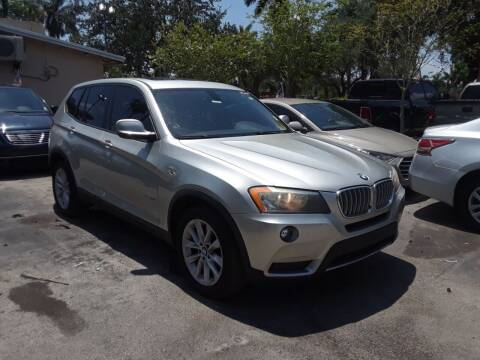 2013 BMW X3 for sale at Florida Auto Trend in Plantation FL