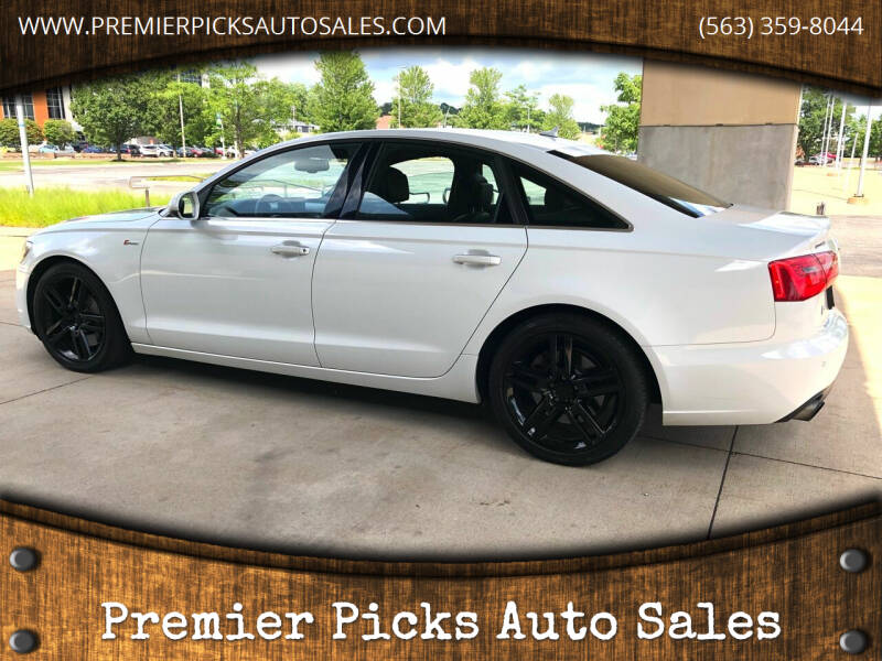 2014 Audi A6 for sale at Premier Picks Auto Sales in Bettendorf IA