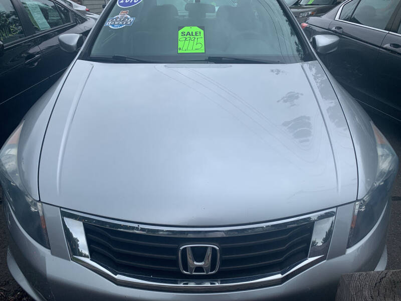 2010 Honda Accord for sale at CAR CORNER RETAIL SALES in Manchester CT