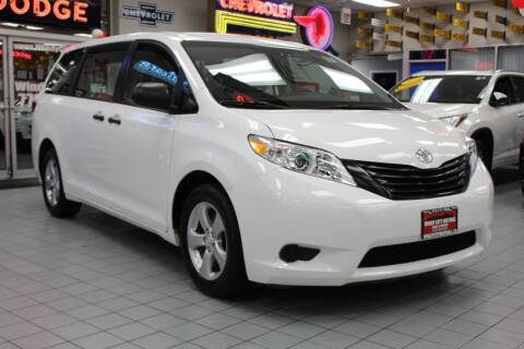 2015 Toyota Sienna for sale at Windy City Motors in Chicago IL