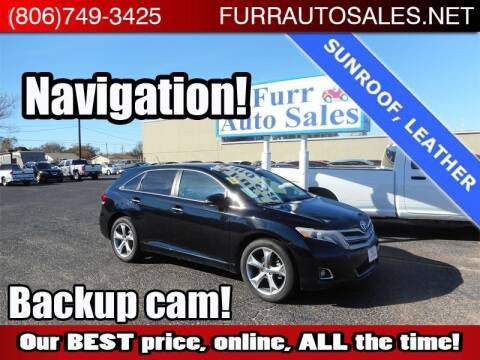 2013 Toyota Venza for sale at FURR AUTO SALES in Lubbock TX