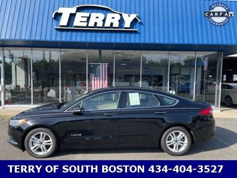 2018 Ford Fusion Hybrid for sale at Terry of South Boston in South Boston VA