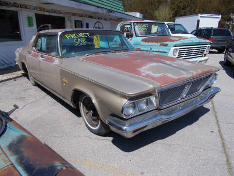 1964 Chrysler New Yorker for sale at Governor Motor Co in Jefferson City MO