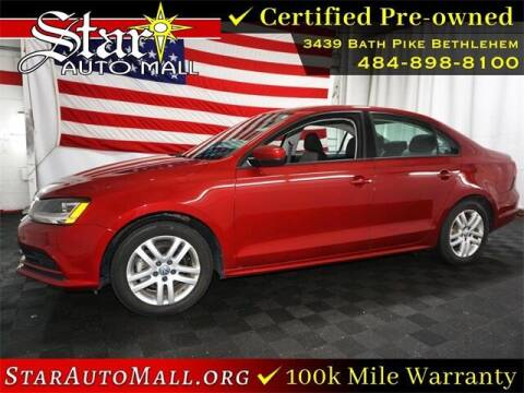 2018 Volkswagen Jetta for sale at STAR AUTO MALL 512 in Bethlehem PA