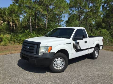 2012 Ford F-150 for sale at VICTORY LANE AUTO SALES in Port Richey FL