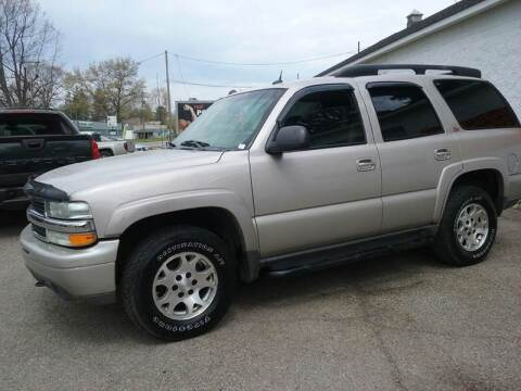 2004 Chevrolet Tahoe for sale at Easy Does It Auto Sales in Newark OH
