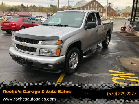 2010 Chevrolet Colorado for sale at Roche's Garage & Auto Sales in Wilkes-Barre PA