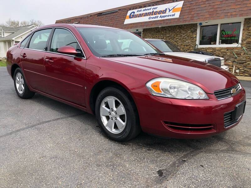 2008 Chevrolet Impala for sale at Approved Motors in Dillonvale OH