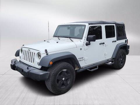 2015 Jeep Wrangler Unlimited for sale at Fitzgerald Cadillac & Chevrolet in Frederick MD