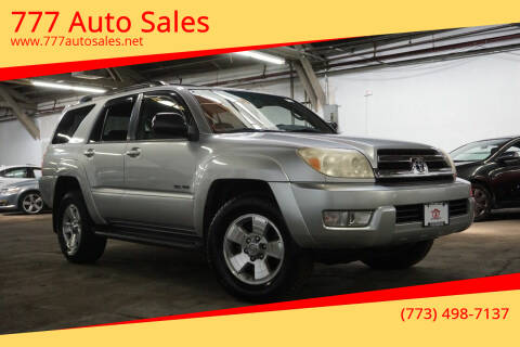 2005 Toyota 4Runner for sale at 777 Auto Sales in Bedford Park IL