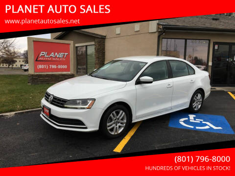 2018 Volkswagen Jetta for sale at PLANET AUTO SALES in Lindon UT