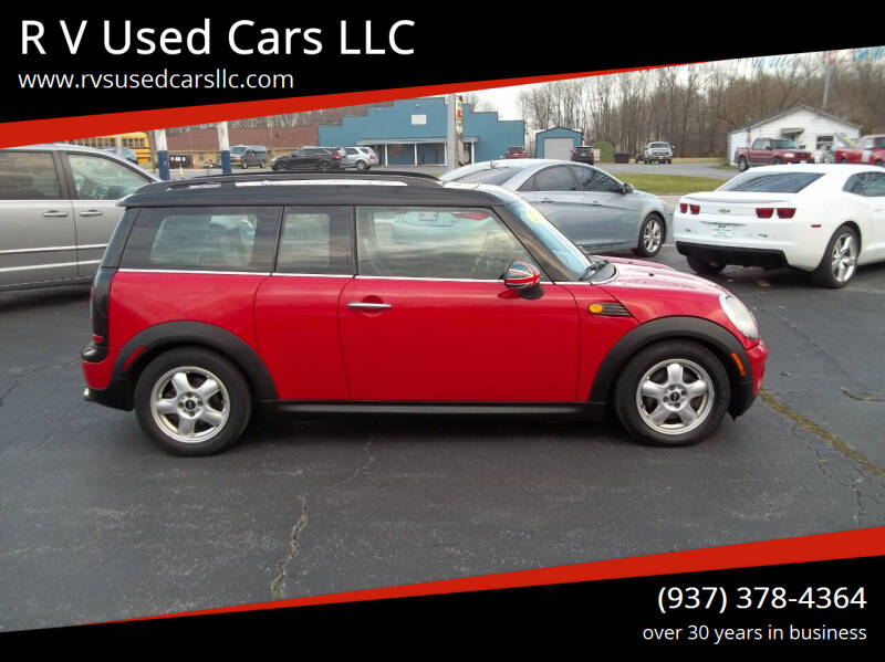 2009 MINI Cooper Clubman for sale at R V Used Cars LLC in Georgetown OH